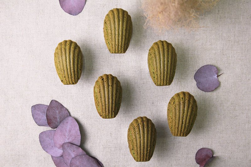 Hill Garden Matcha Madeleine | French traditional sweets combined with Japanese style