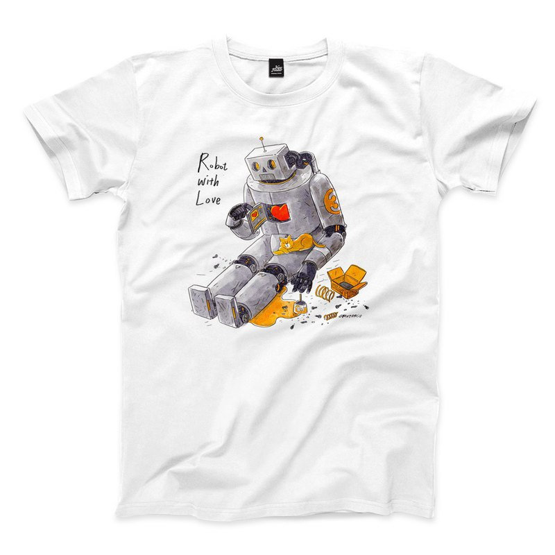 Failure of Mechanical Romance-White-Unisex T-Shirt