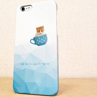 (Free shipping)iPhone case GALAXY case ☆Cat in the cup