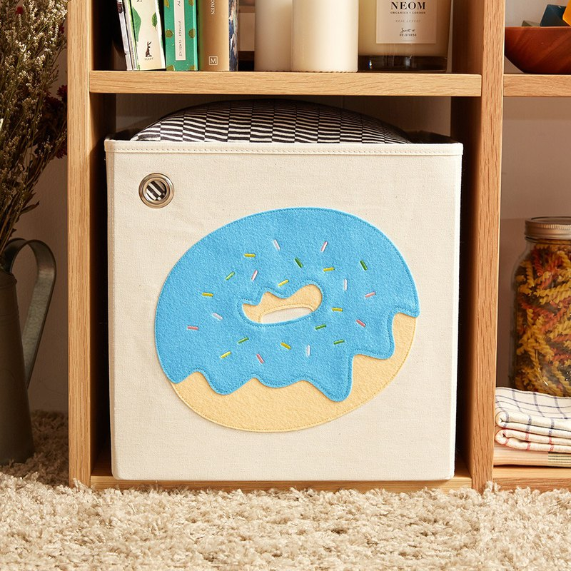 Blueberry Yogurt Donut - Toy Storage Box