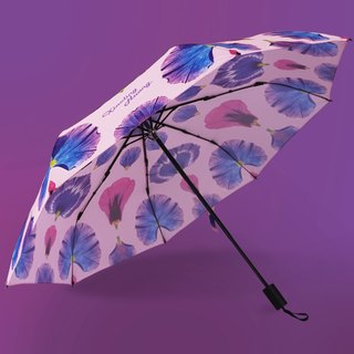 Petals Art Pink Umbrella