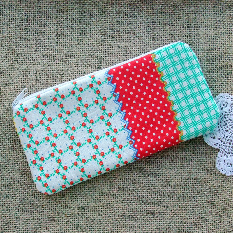 Large Zipper Pouch, Pencil Pouch, Gadget Bag, Cosmetic Bag (ZL-161)