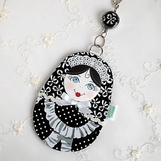 Matryoshka path Case maid / black (MP-130b)