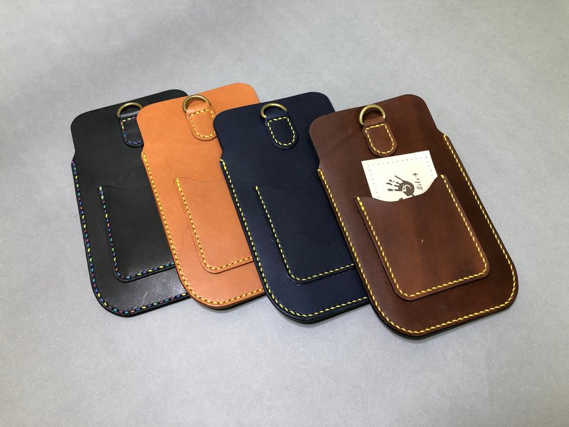 [Mini5] Straight simple mobile phone case / (without neck rope / sling) can be purchased separately