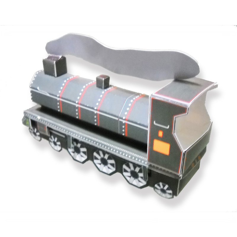 DIY Handmade-Simple Retro Train 20153-0000005