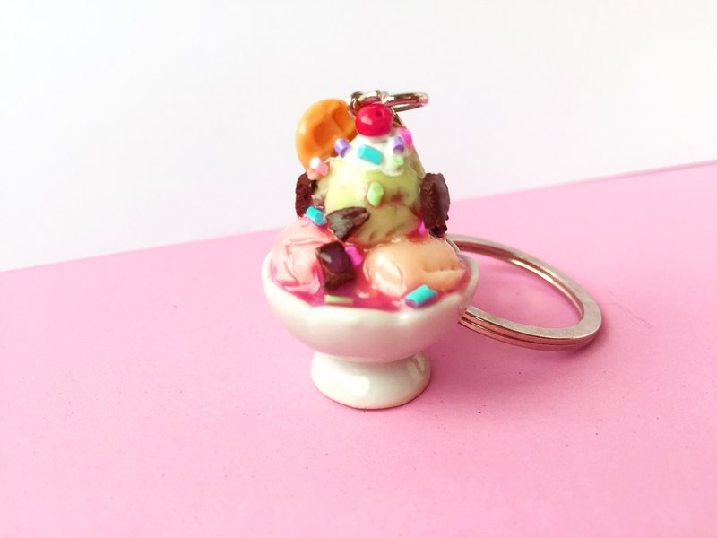 Keychain Ice Cream Mix.
