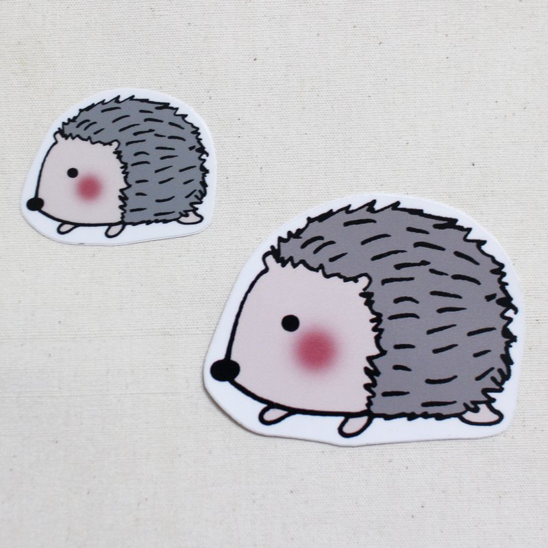 Waterproof sticker_Little Hedgehog 03
