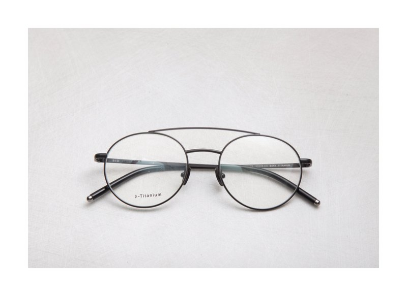Japanese titanium retro bar parallel frame matte black