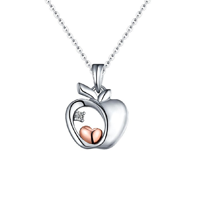Diamond Necklace Pendant for Female