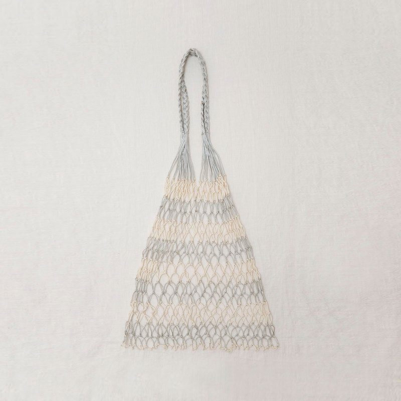 Hand-knitted Fish Net Bag