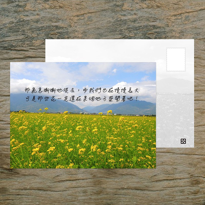 Postcard / Flowers are still in bloom / Buy 10 get 1 free