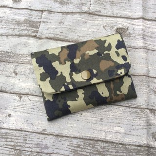 Face Paper Bag Card Bag Purse Camouflage Wind
