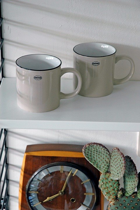 Cabanaz - TEA / COFFEE MUG Tea / Coffee Mug / Gray