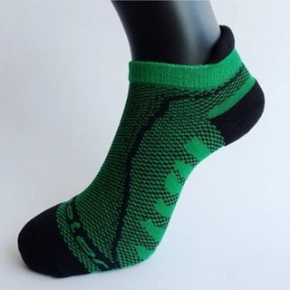 MIT Bamboo Carbon with Breathable Cushion Antiskid Socks _Green 2 into the group