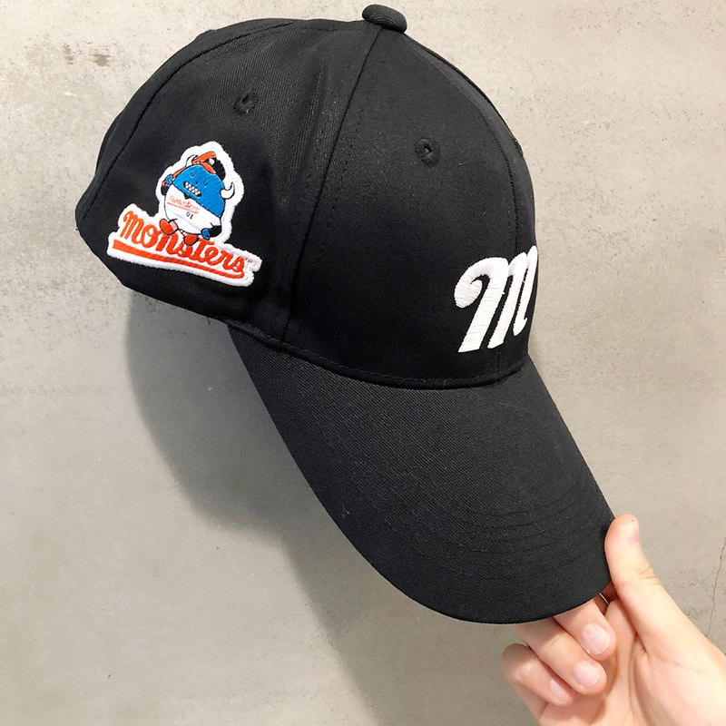 SML monster baseball team baseball cap baseball cap