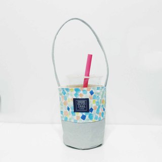 Drink bag - colored squares