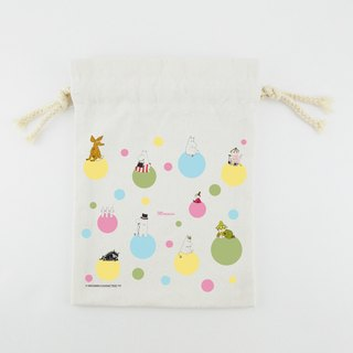 Moomin Moomin authorization - Drawstring (Small): [] Rainbow Bubble