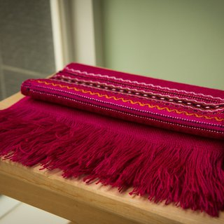 Vista [information], South America, Indian hand-shawl pink