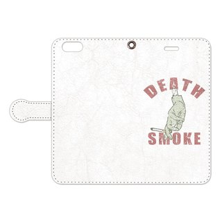 Notebook type iPhone case / Death Smoke