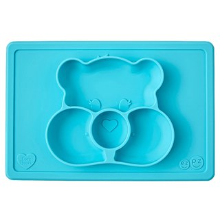 United States EZPZ Care Bears joint plate - wish bear silicone non-toxic tableware safety