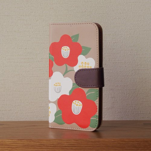 【Notebook type android phone case】Plastic case fixed