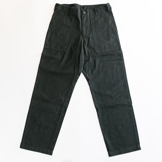 OG107 US army pants wide straight limited edition black