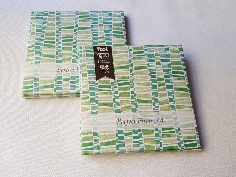 TooL and Washi Card-Chunk Green / GTIN: 4713077971604