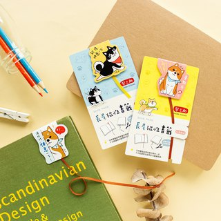 Chai Zhizhu / Long tail magnet bookmark