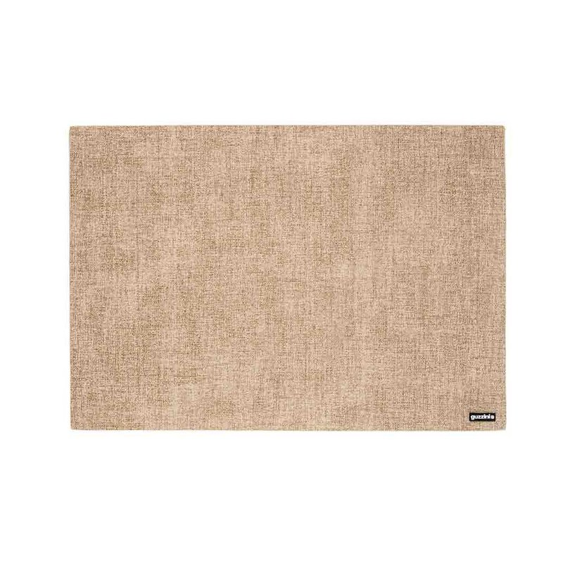 FABRIC REVERSIBLE PLACEMAT (Dark Beige)
