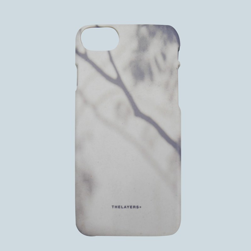 GRAPHIC PRINT - SHADOW OF TWIG Personalized Phone Case