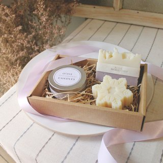 Winter Purple | Handmade Soap & Candle Gift Set - (Limited)