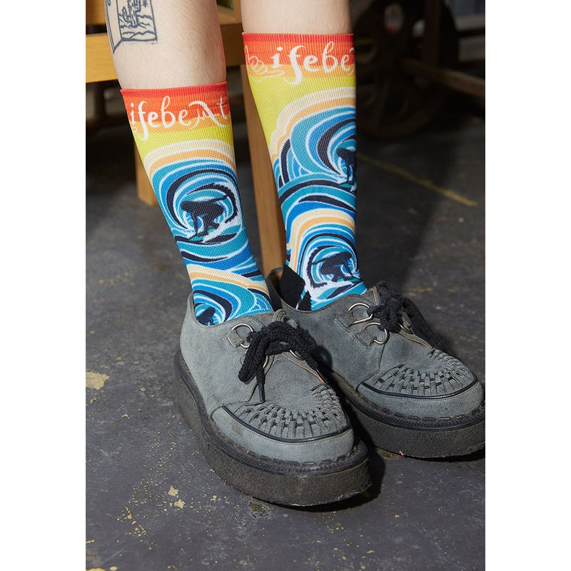 California Dream Collection Shaka Stylish Socks