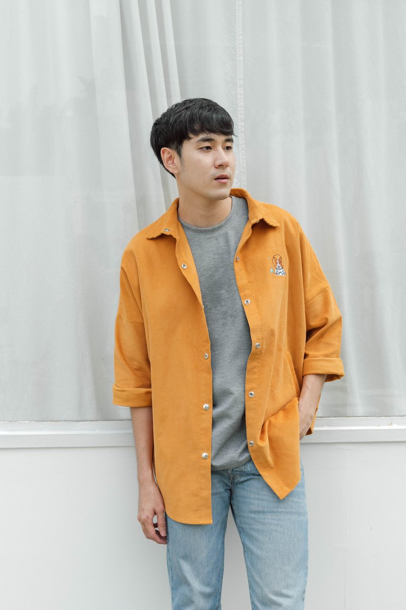 Toby Jacket (Yellow Corduroy) // Special item for Pinkoi Market Taipei 2019//