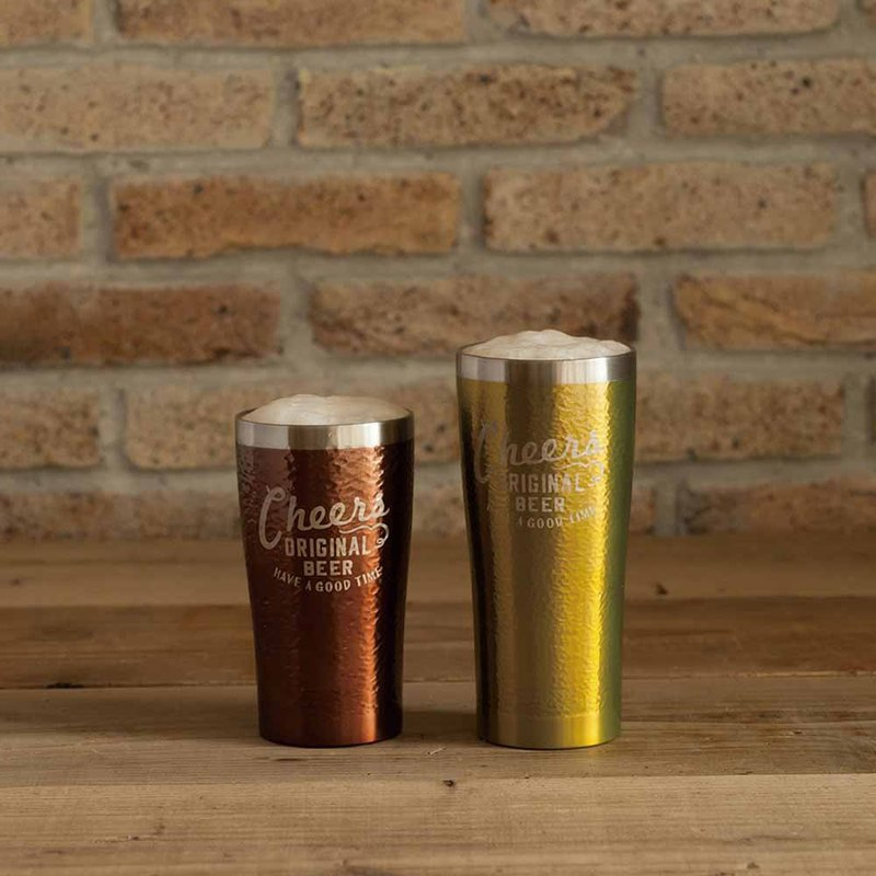 BISQUE / Cheers Double Stainless Steel Beer cup