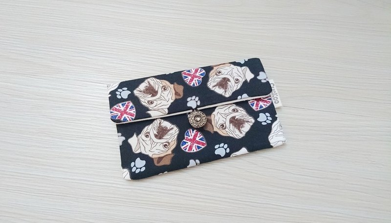 Passbook bag passport set sanitary cotton bag pad bag storage bag AS-63 Shapi dog