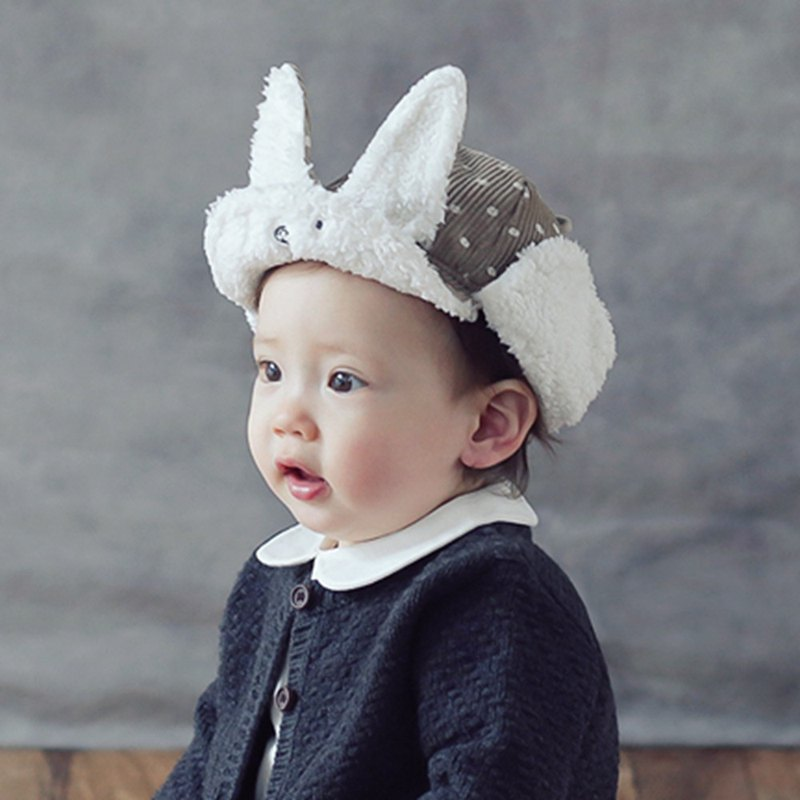 Happy Prince Lapang baby winter warm wool cap made in Korea