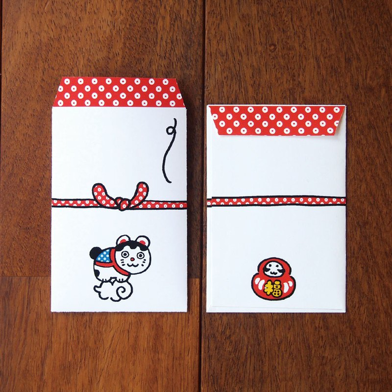 Japanese Gift-Money petit envelope - Fortune Cat -