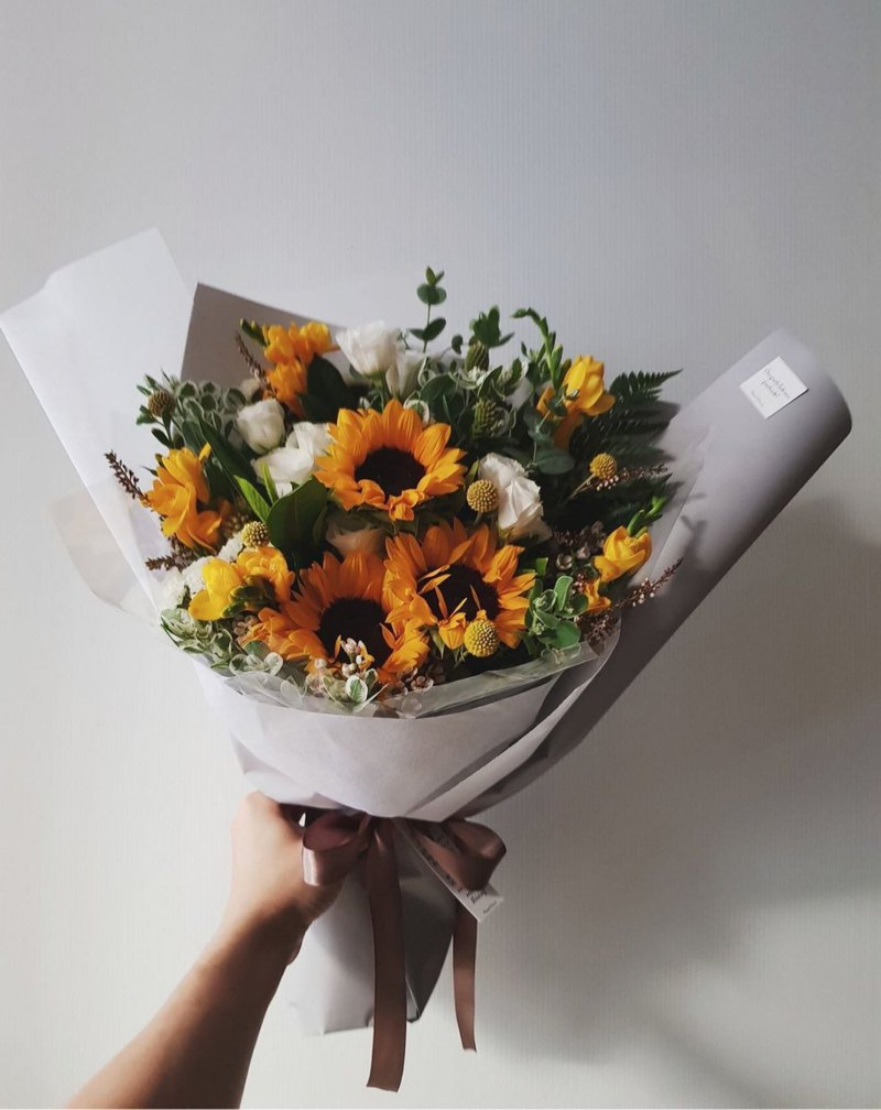 Flowers │ bouquet │ sunflower bouquet L │ distribution limited to the Taipei area │ self-fetch