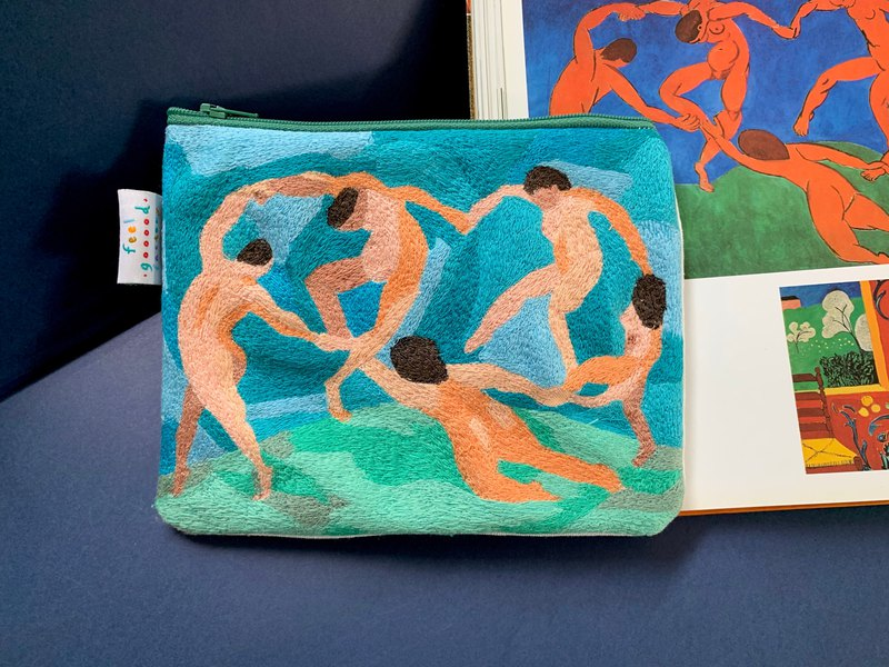 Embroidery Pencil Case ( The Dance )