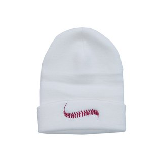 Baseball ball embroidered beanie Tcollector