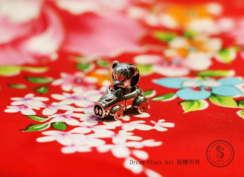 DreamGlassArt*Bear Pig GoGoGo - SBB-190112 - Official Limited *168