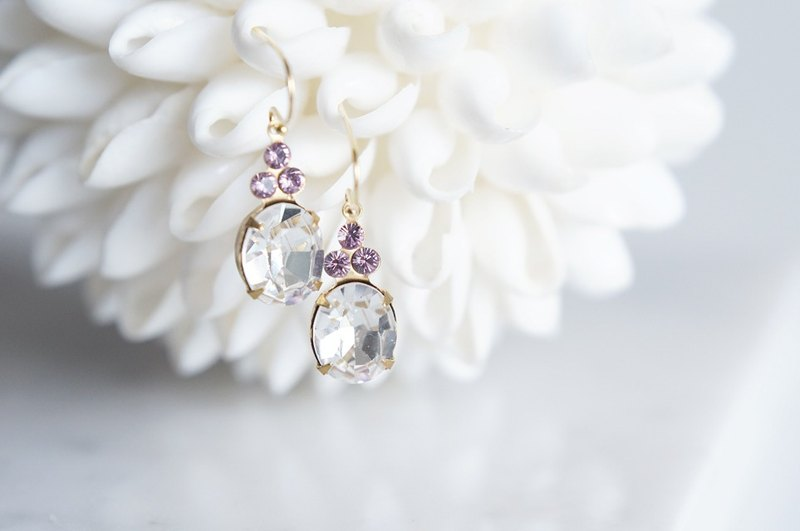 【14KGF】 Rock Candy/Crystal & Light Amethyst