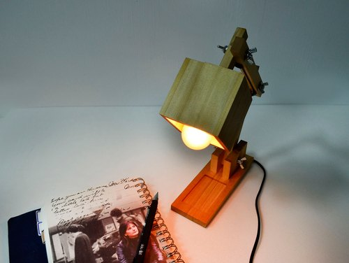Shaking head lamp night lamp reading lamp situation lamp home lamp - small eyes workshop