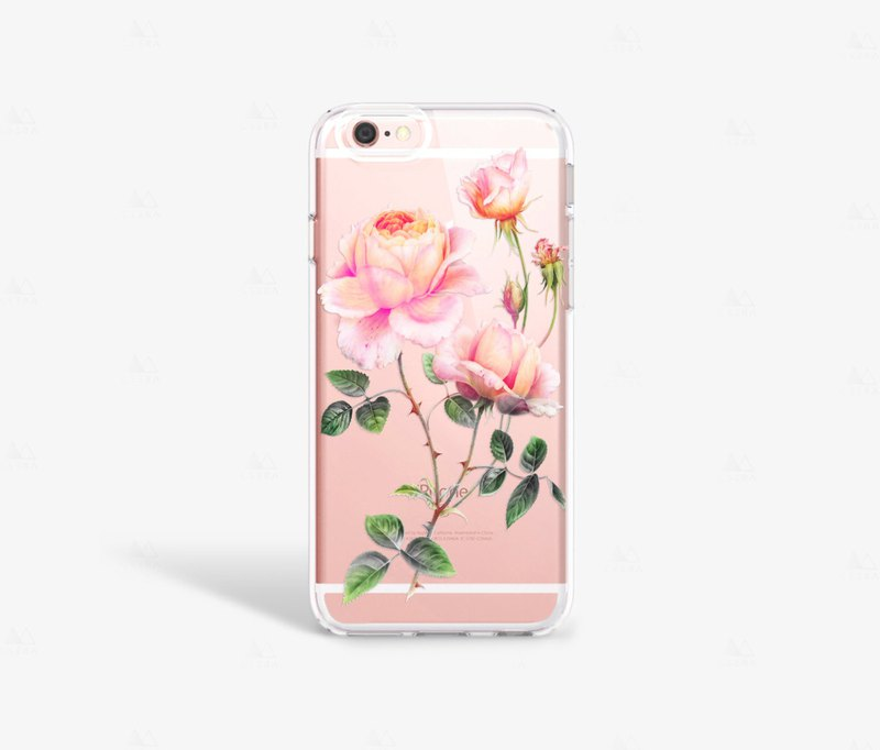 Floral iPhone 7 Case Clear iPhone 8 Case Clear iPhone 7 Plus Case Clear iPhone 6