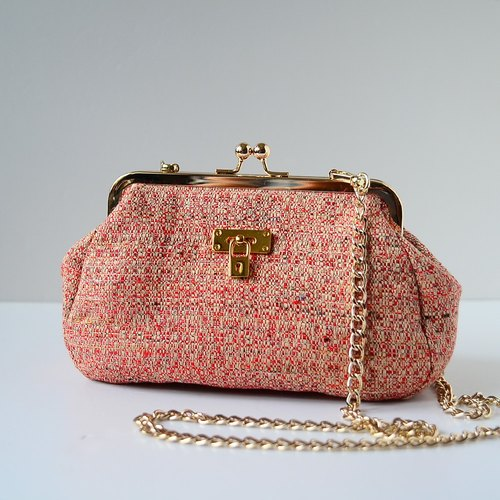 Doctor. Medium dual handbags. India Pastel Red (last one!)