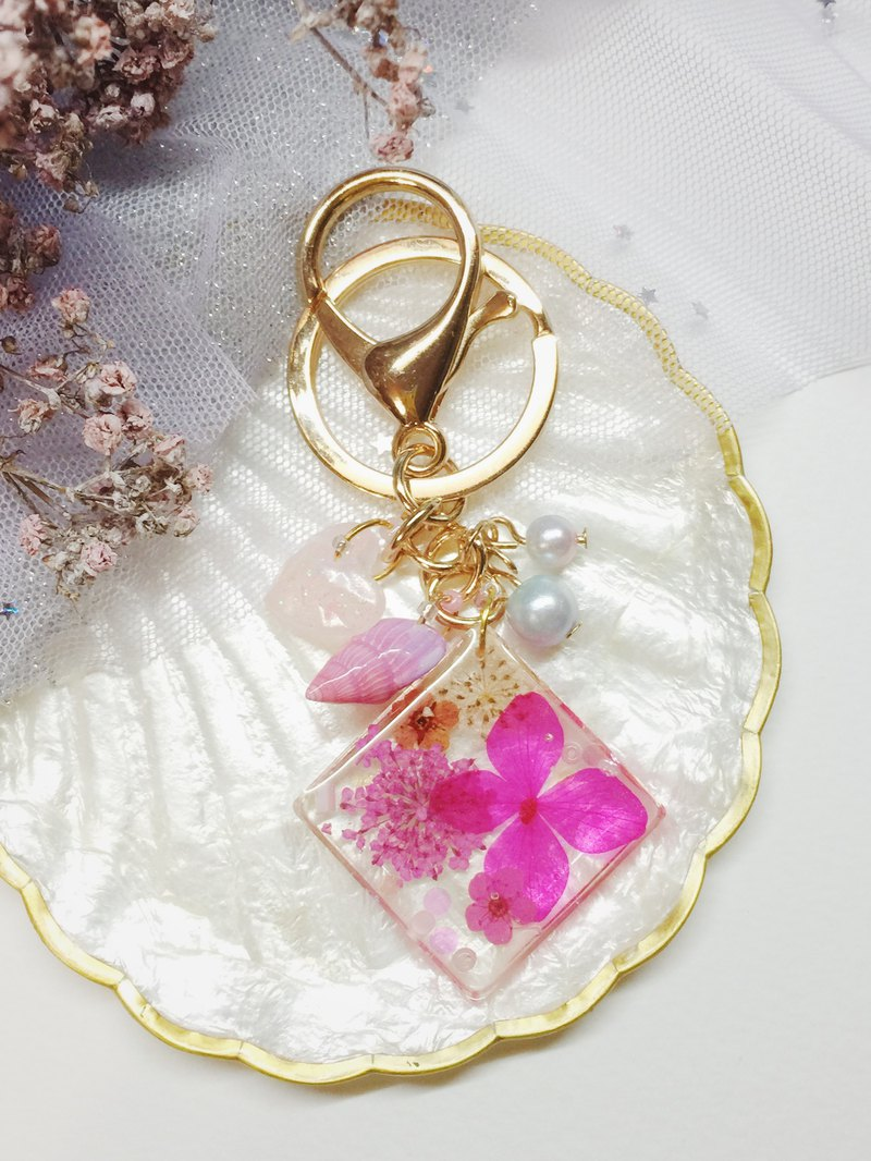 Sakura Planet - No.0002 (Bag Charm / Keyring)