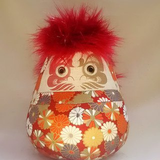 Daruma doll 【Japanese  patten 】Small size