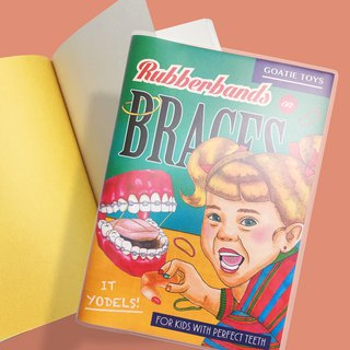Braces sister - line packed small notes