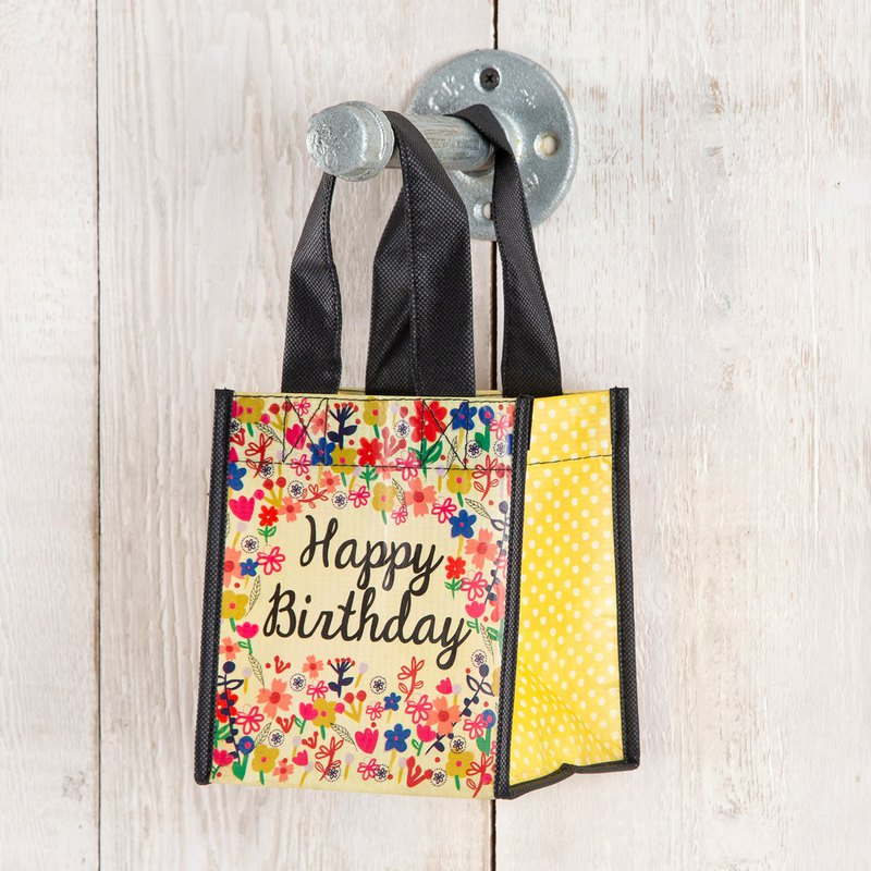 Environmentally friendly material gift bag S-Happy Birthday|GBAG044