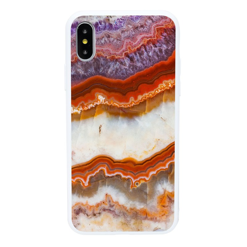 Mulberry Agate iPhone 6 7 8 Plus X XS XR XSmax Phone Case